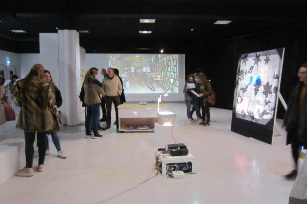 exposition Pierres projetées PAM LITHO Brest