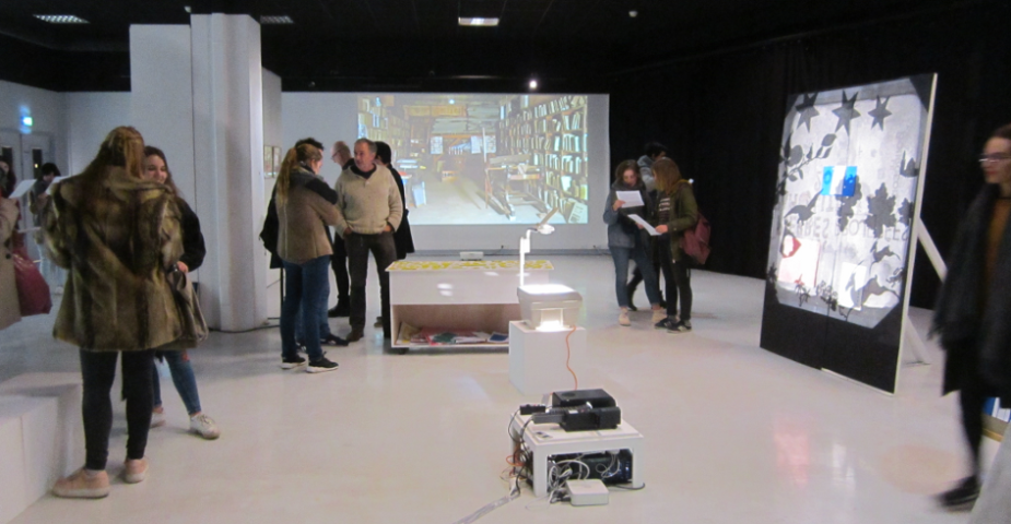 exposition collective 3 Pierres projetées ubo Brest